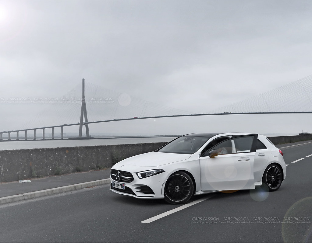 A test mercedes AMG test drive Normandy photographer test
