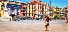 in piazza Dante