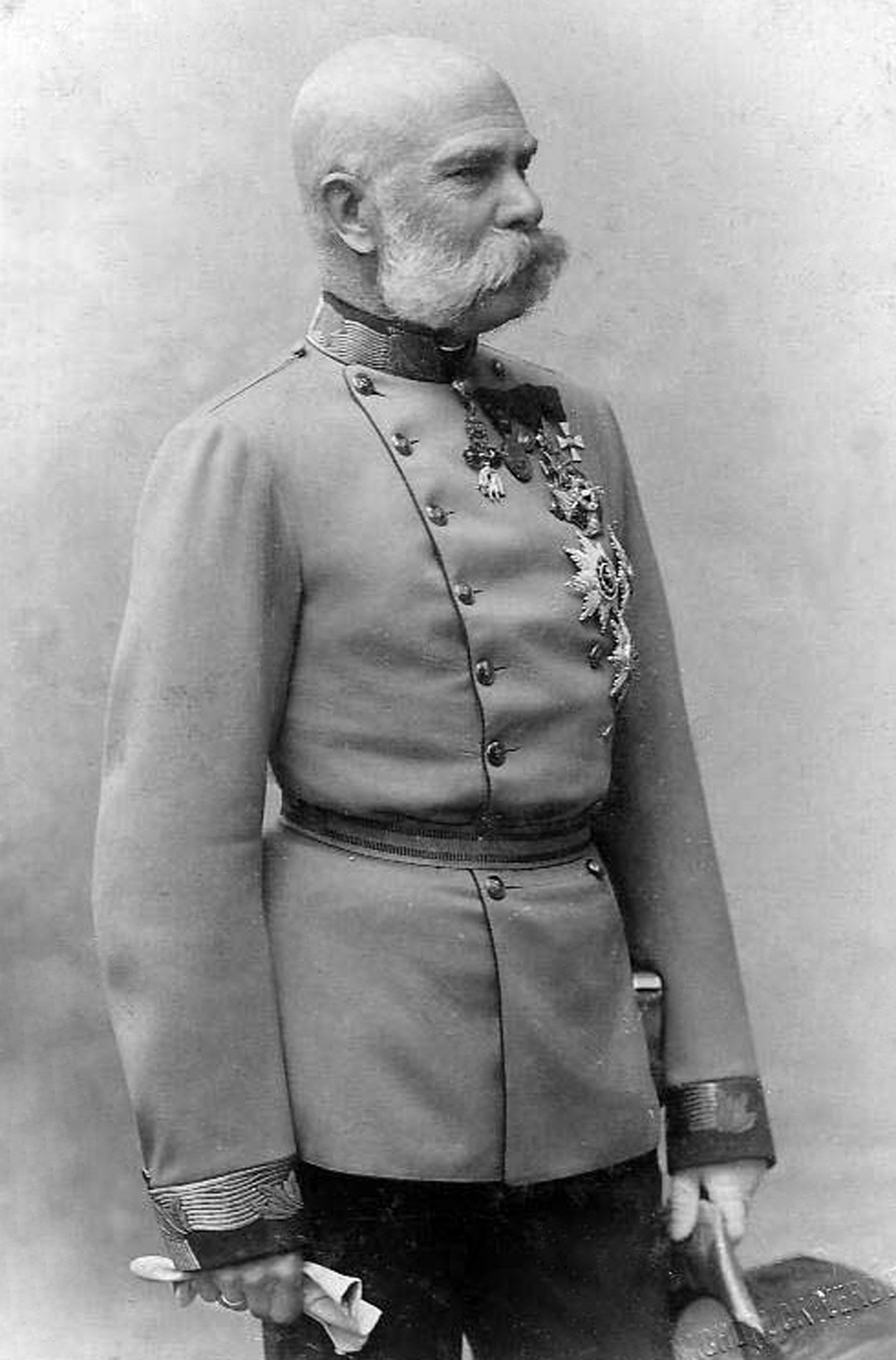 Emperor-King Franz Josef I, circa 1885