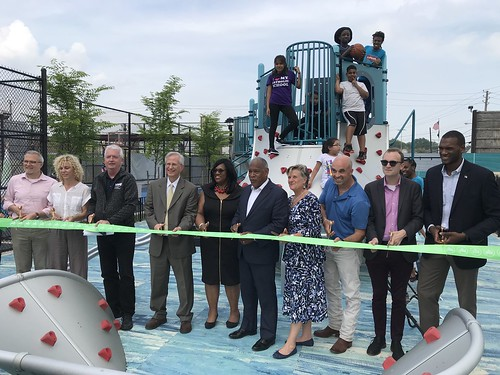 CPI Levy and McDonald Playground Openings