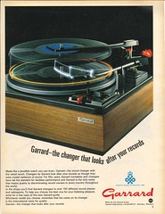 Garrard Adv The Changer That Looks After Your Records