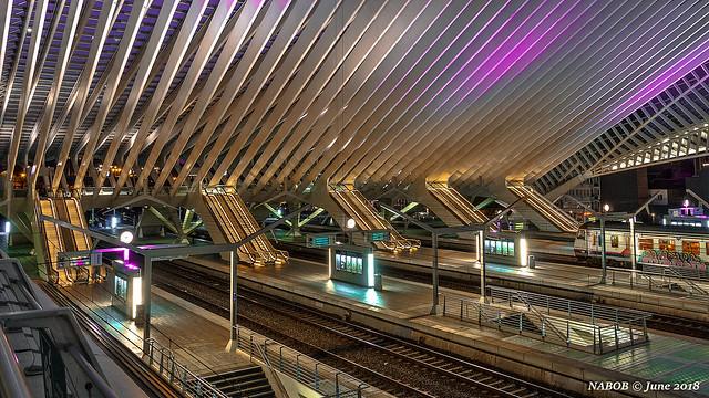 Liège, Belgium: Liège-Guillemins railway station