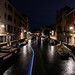 Night time Canal
