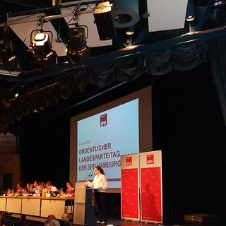 SPD Landesparteitag im Juni 2018