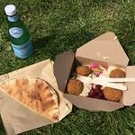 Best post-swim falafel @ Lido cafe