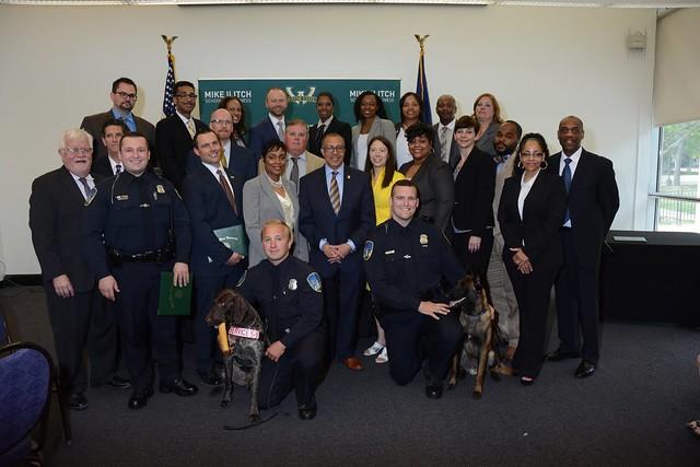 Detroit Police Department Leadership Academy Graduation
