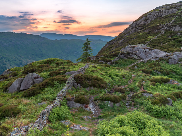 Dawn over Langdale, Canon EOS 6D MARK II, Canon EF 16-35mm f/4L IS USM