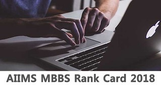 AIIMS MBBS Rank Card