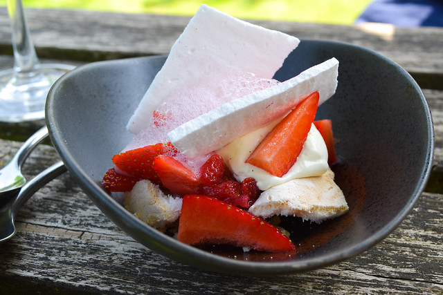 Eton Mess at The Compasses Inn, Crundale