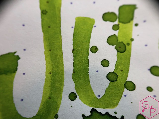 @RobertOsterInk Lime Juice Ink Review @MilligramStore 20