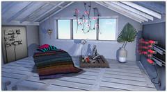 .Attic Bedroom