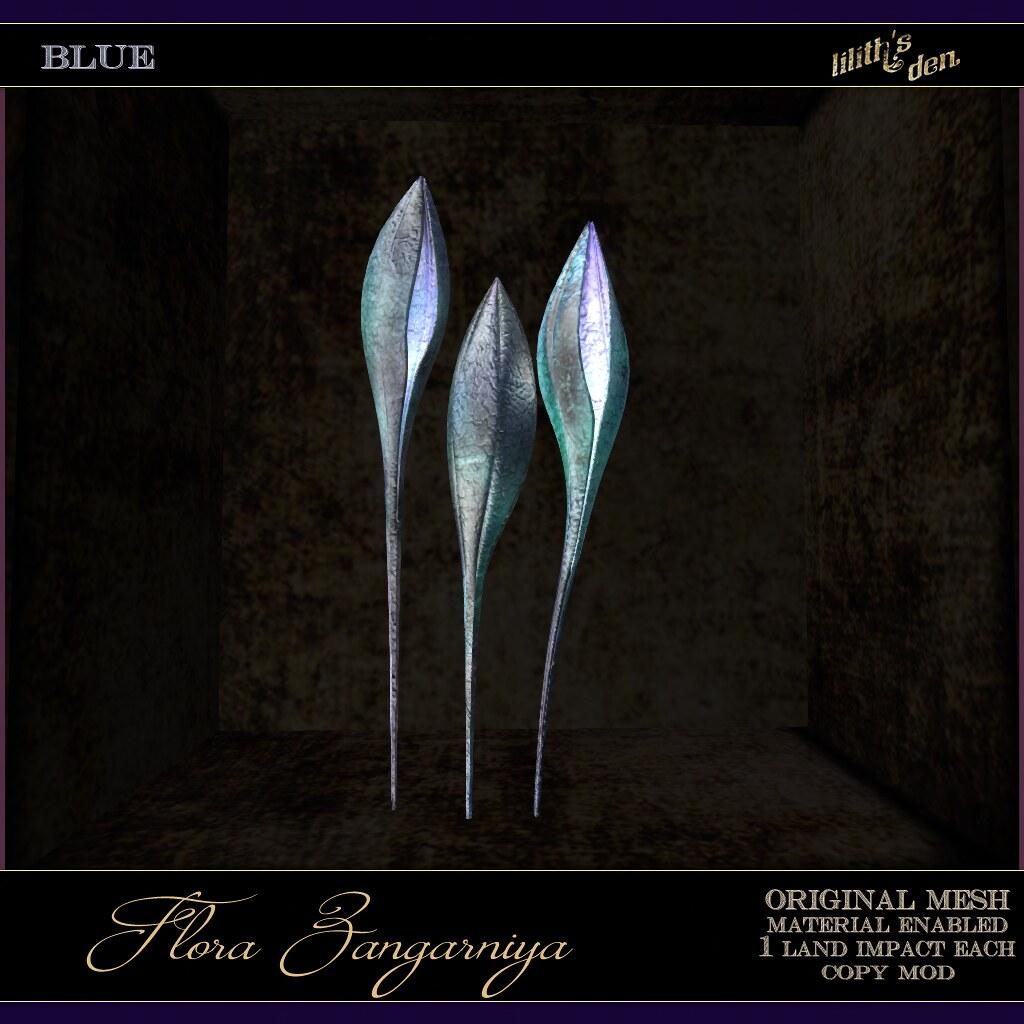 Lilith's Den –  Flora Zangarniya – blue