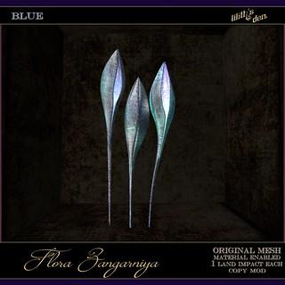 Lilith's Den -  Flora Zangarniya - blue