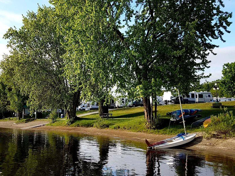 Camping Plage de la baie