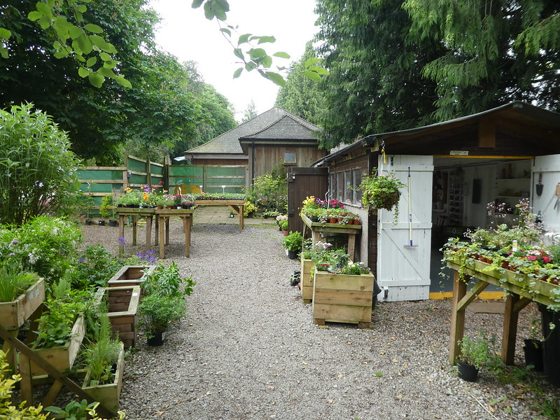 Plant centre, Thorp Perrow Arboretum