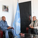 SRSG Ibn Chambas meets a delegation of the Kofi Annan International Peacekeeping Training Centre