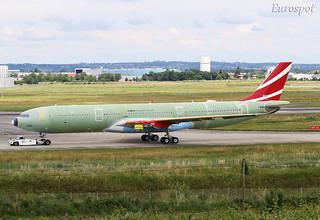 F-WWCN Airbus A330 Neo Air Muaritius
