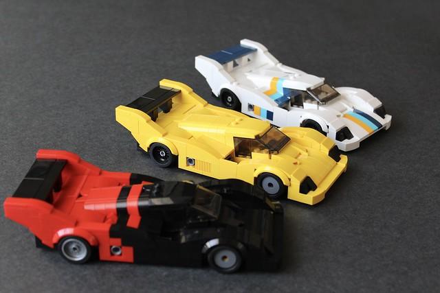 LEGO Porsche 962, Fuji 1988