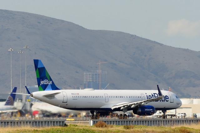N943JT - Airbus A321-231 - JetBlue Airways