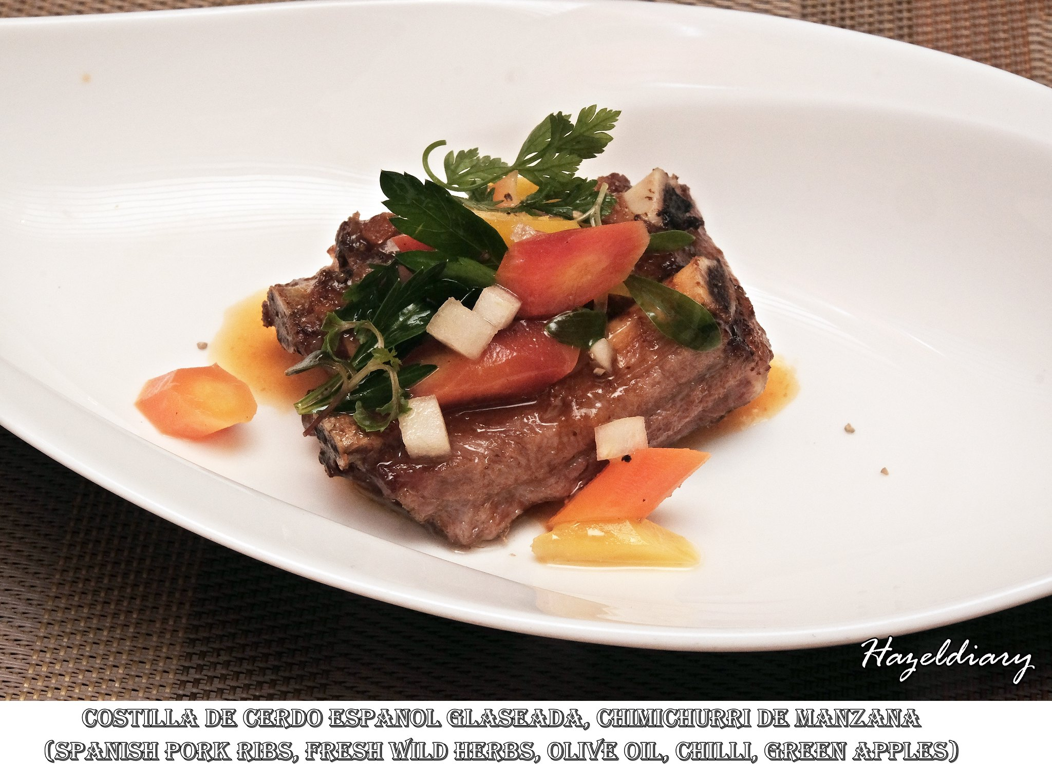 Capella The Knolls-Spanish Gourmet-Pork-Hazeldiary