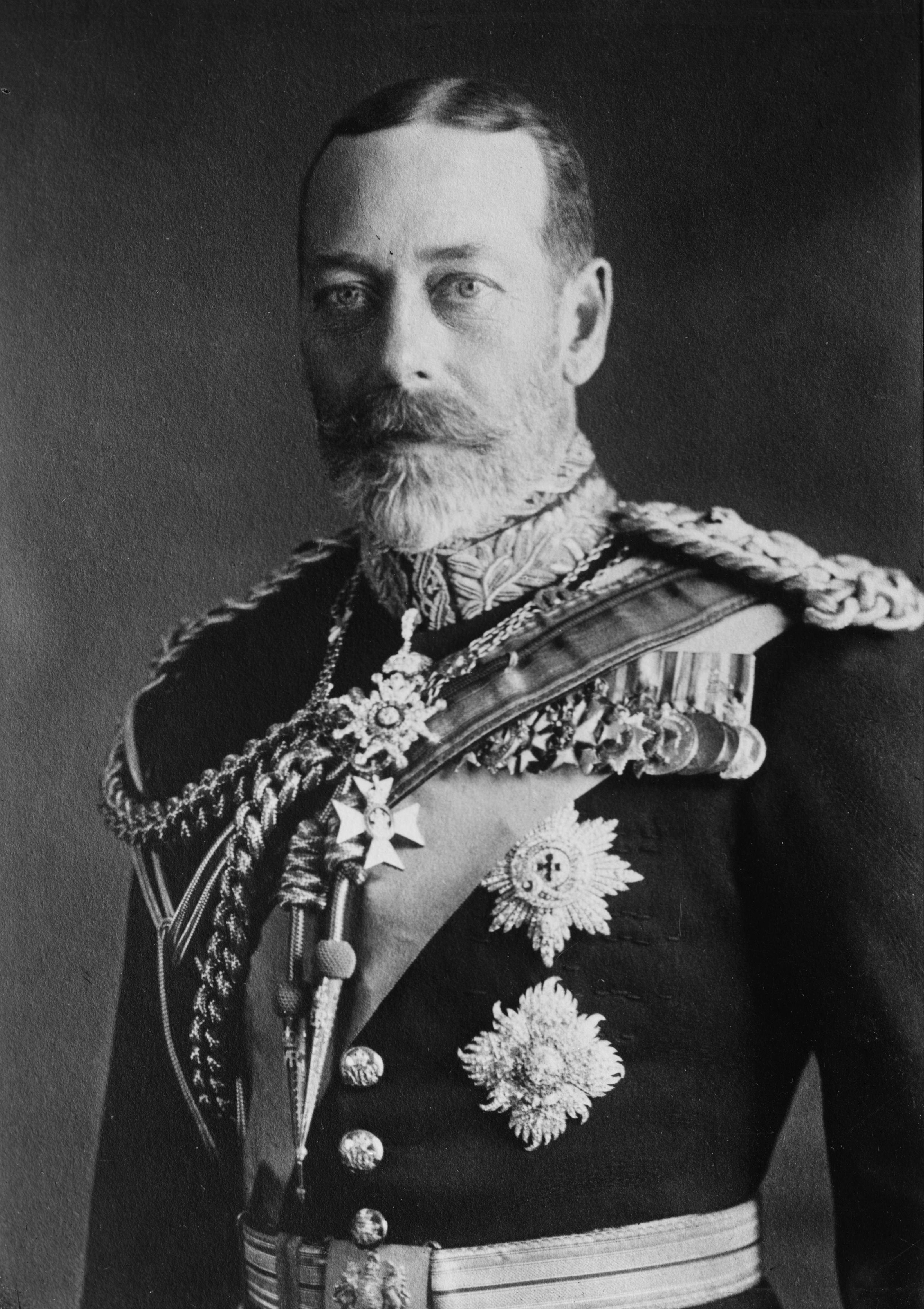 King George V in 1923