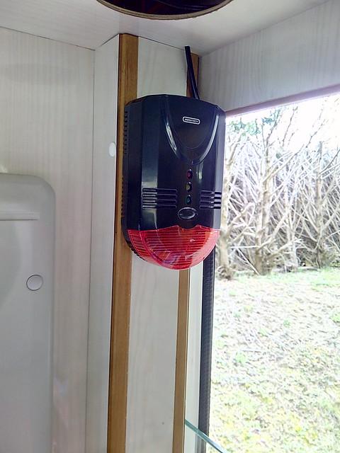 alarme détecteur gaz, CO2 + narco