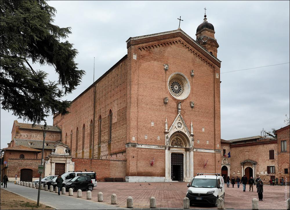 Базилика Святого Франциска, Сиена, Италия