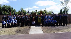 Trenchard Way naming ceremony