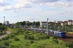 BB(8)22218 + Auto-train - ME100 - Train n°52043 Paris-Bercy-Conflans > Rungis (MIN)