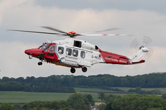 G-MCGT AW189 HM Coastguard Prestwick 11.06.18