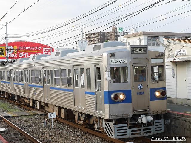 熊本電車-熊本熊電車64