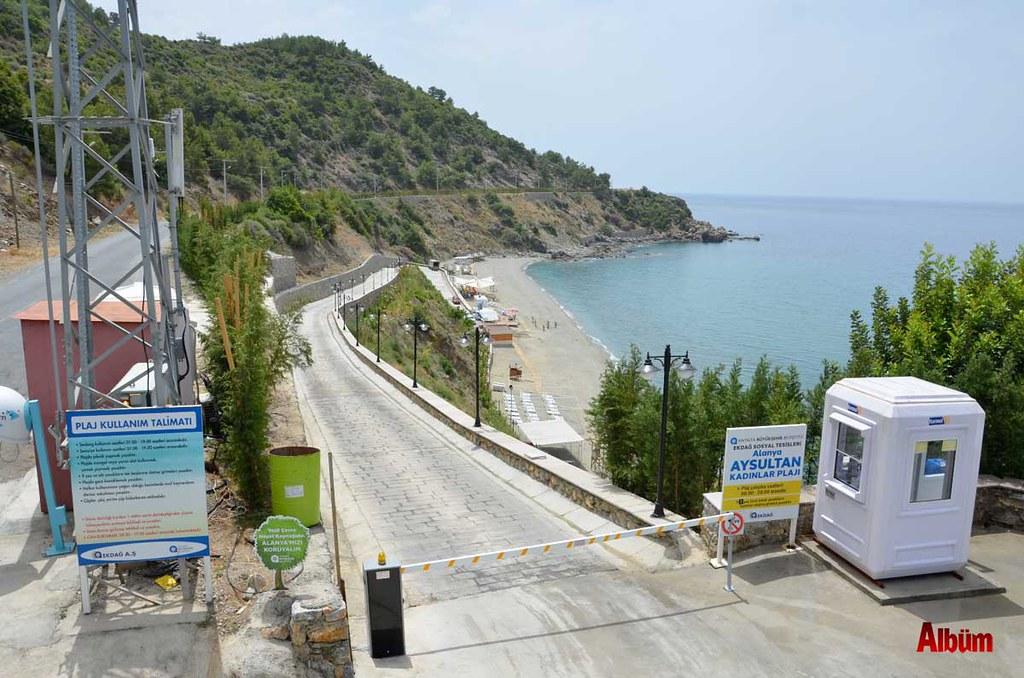 Aysultan Plajı açıldı