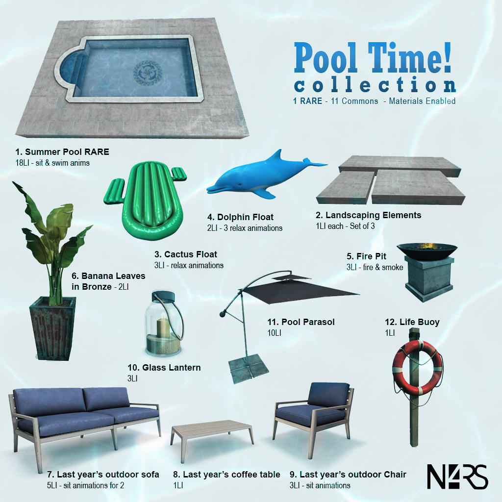 N4RS Pool Time! Gacha Key - TeleportHub.com Live!