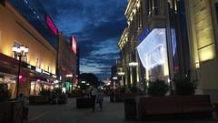 Evening Weiner Street.