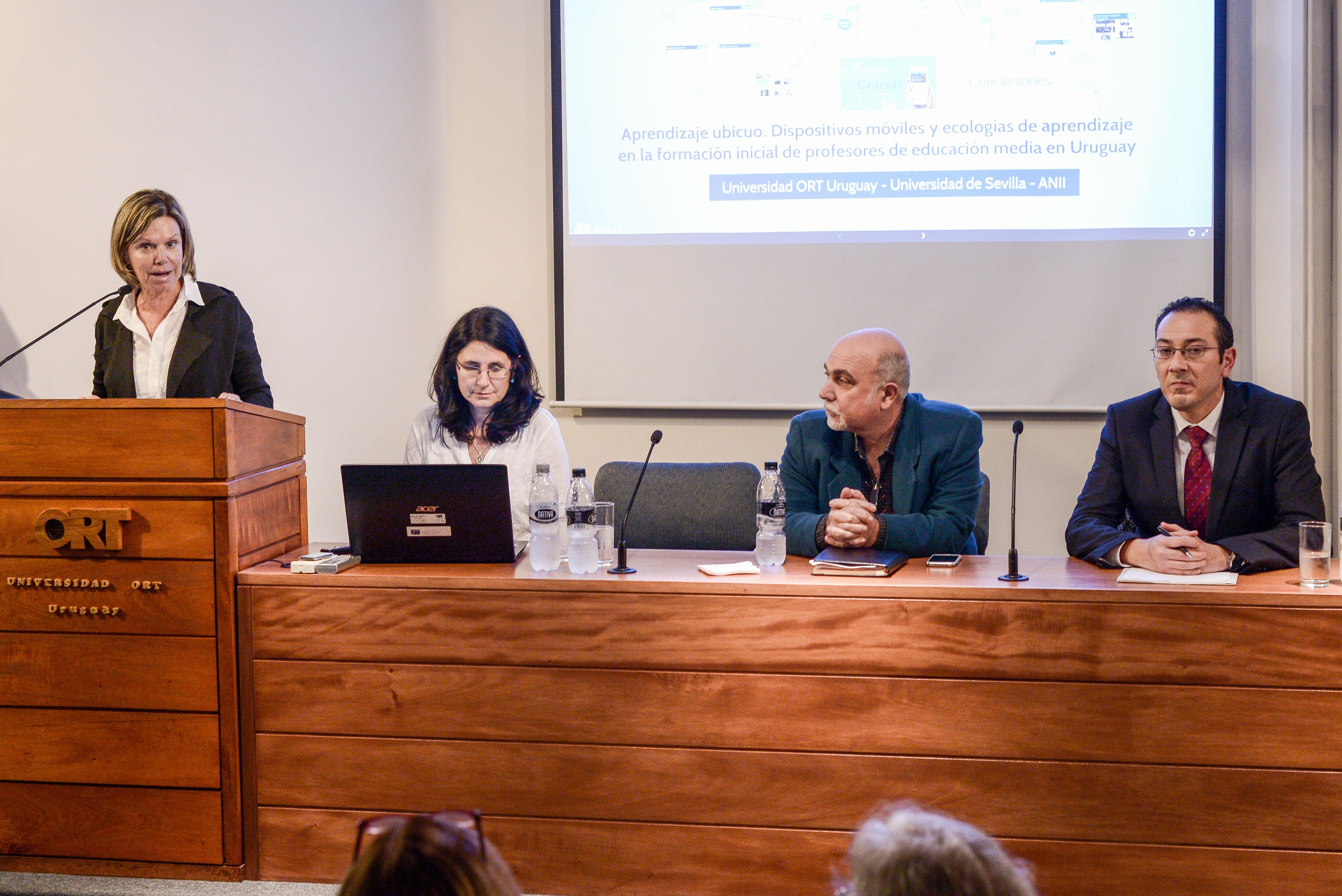 Presentación de resultados del proyecto Aprendizaje Ubicuo - Mayo 2018