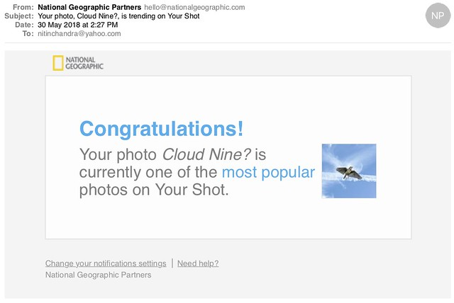 Your photo Cloud Nine is trending on Your Shot