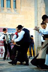Выступление словенцев на фольклорном фестивале в Херцег Нови