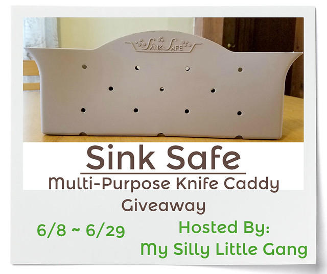 Sink Safe Multi-Purpose Knife Caddy Giveaway