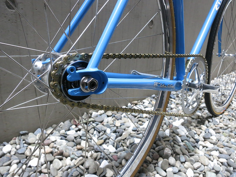 SURLY Steamroller Blue Rear