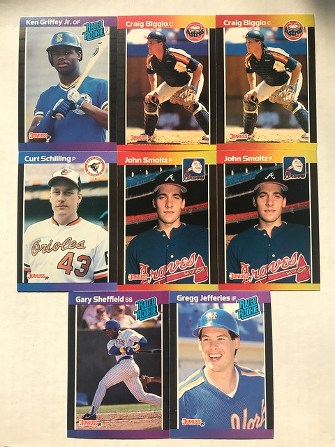 Old School Blast From The Past Break 1989 Donruss Blowout Cards Forums