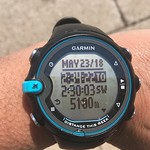 Day 3 - 5km swim nailed