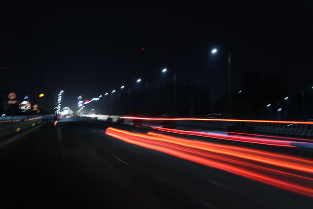 The Night Highways, Canon EOS 1500D, Canon EF-S 18-55mm f/3.5-5.6 IS II