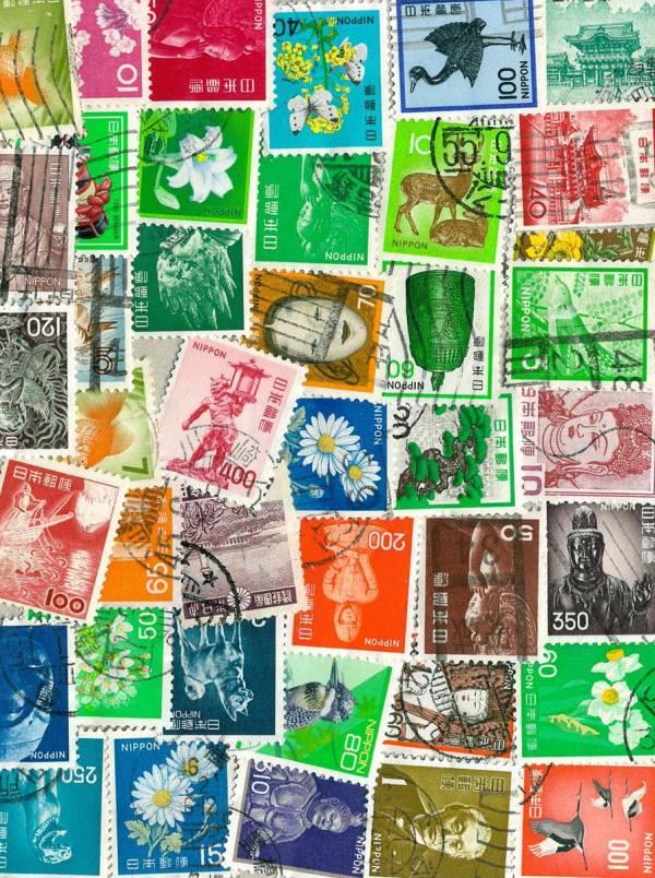 Známky 42 ks rôznych, Japonsko