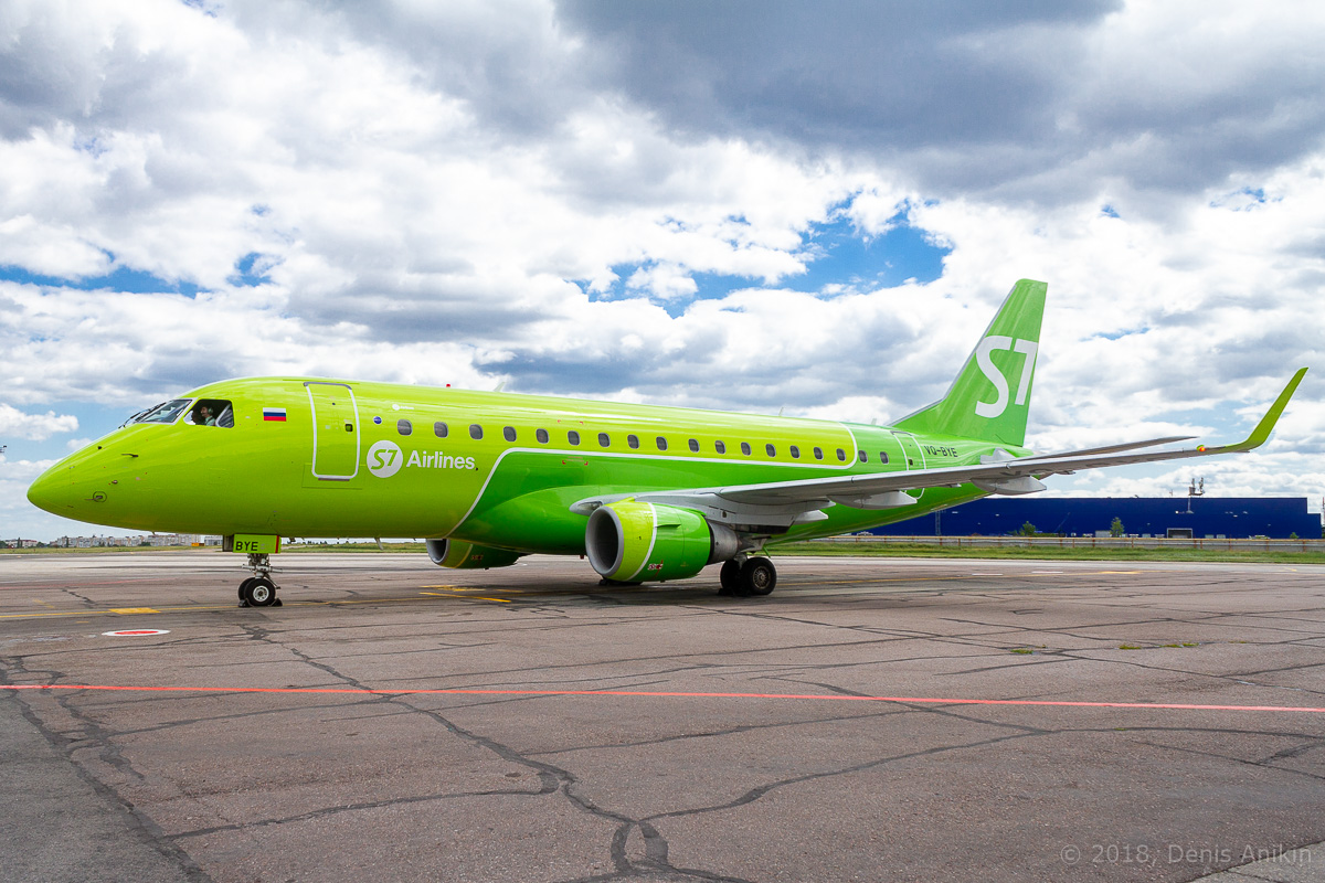 S7 Airlines первый рейс в Саратов фото 4