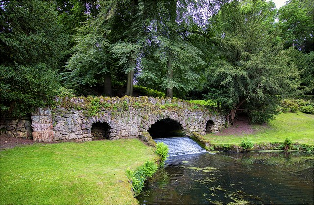 Well known Bridge at a NT Place in Yorkshire