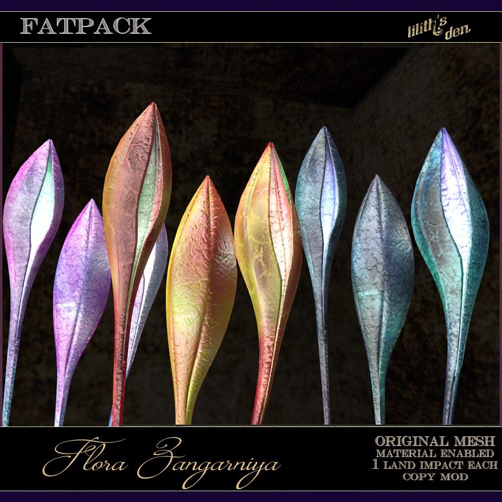 Lilith's Den –  Flora Zangarniya – FATPACK