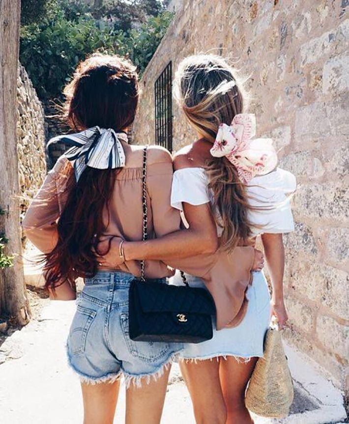 Cool Summer Hairstyles With Scarfs trend 2018 style fashion tendencias4
