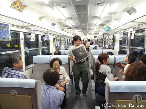 6/30(土)「ホタル列車」で初夏の夜を楽しもう