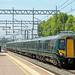 GWR 387 132, West Ealing, 18-05-18