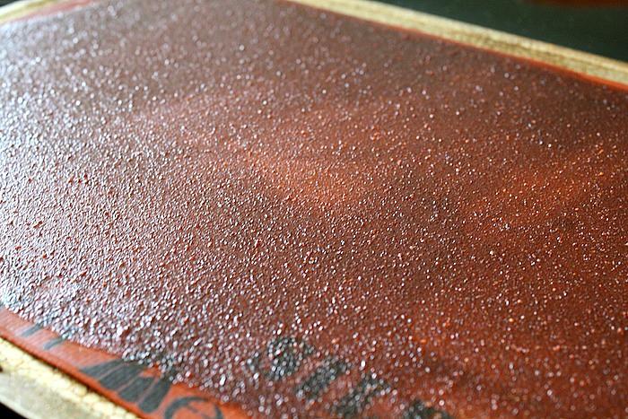 Strawberry Lemonade Fruit Leather